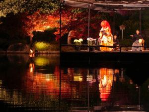 猩々-水に浮かぶ能舞台